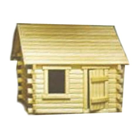Model Log Cabin by Log Cabin Model Kit Sr105