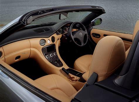 maserati spyder interior maserati spyder convertible 2002 2005 features