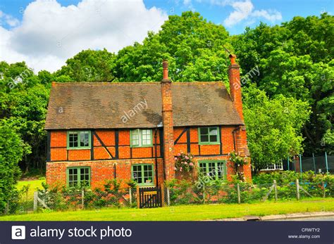 cottages in surrey country cottage in the surrey uk stock photo royalty free image 49126198 alamy