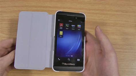 Cassing Blackberry Z10 Kesing Bb White Housing blackberry z10 flip shell review white acc 49284 202