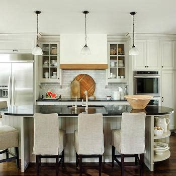 Oval Kitchen Islands Recycled Glass Kitchen Countertops Cottage Kitchen