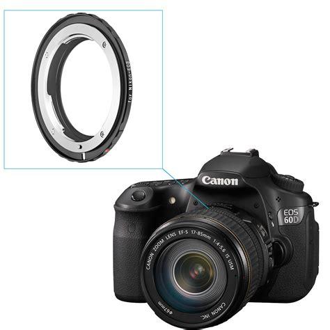 Kamera Canon Rebel T3 neewer objektiv befestigungsadapter nikon f objektiv canon