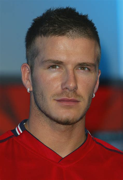 David Beckham Hairstyles by In Photos Top 14 David Beckham Hairstyles Who Ate All