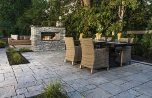 Patio Designs Using Pavers Patio Design Ideas Using Concrete Pavers For Big Backyard Style Unilock