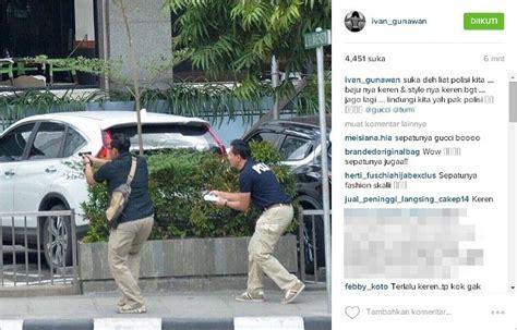 Celana Polisi Bom Sarinah sepatu kerennya polisi di tkp sarinah coffeeyourmorning