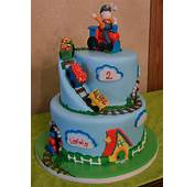 Birthday Cakes For Little Boys  Foot Palm Tree Plants