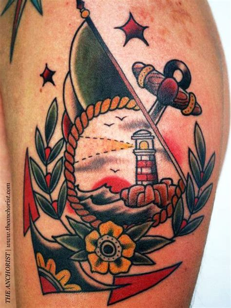 tattoo old school lighthouse 1000 images about old school sail tat on pinterest