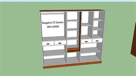 3d wardrobe design wardrobe inside design 3d warehouse