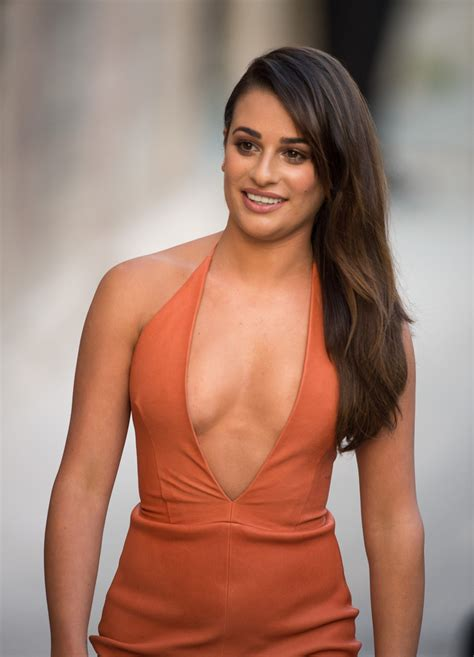 lea michele lea michele photos photos lea michele at jimmy kimmel