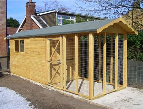 Kennel Shed by Shed And Kennel Combination