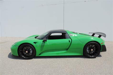 porsche viper green vs signal green this porsche 918 spyder sports viper green paint 2 mill