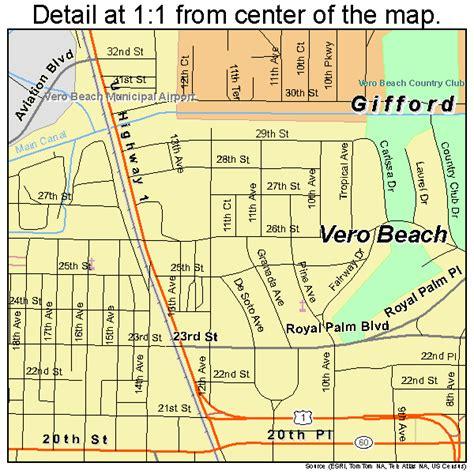 map of vero florida area vero florida map 1274150