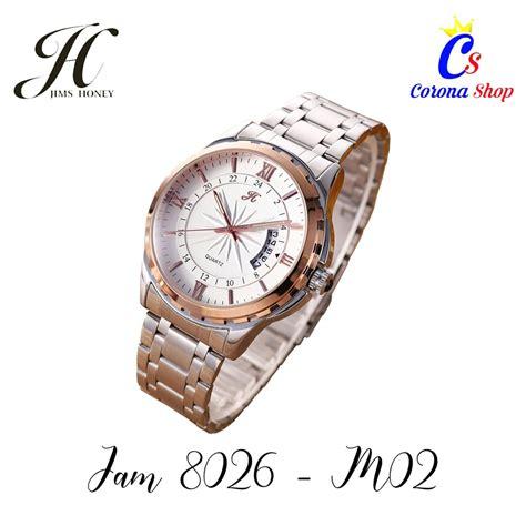 jam tangan pria import code  man  jims honey jh