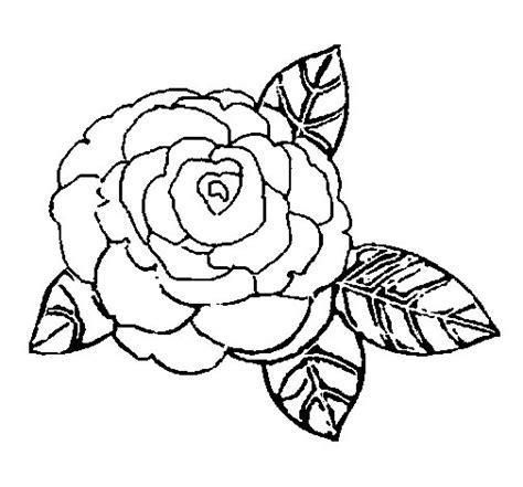 imagenes de rosas sin pintar dibujo de rosa 2 para colorear dibujos net