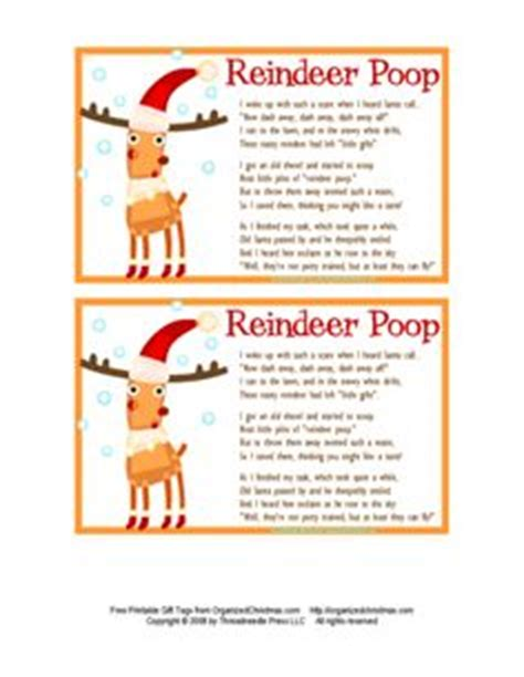 printable reindeer poop labels reindeer on pinterest 17 pins