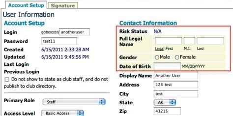 Got Soccer Background Check New Sub User Club Staff Background Checks