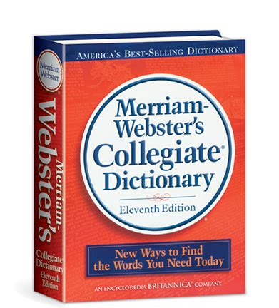 The Merriam Webster Dictionary christian light publications