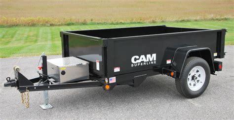 dump trailer deckover dump 3 5 5 6 amp 7 ton models