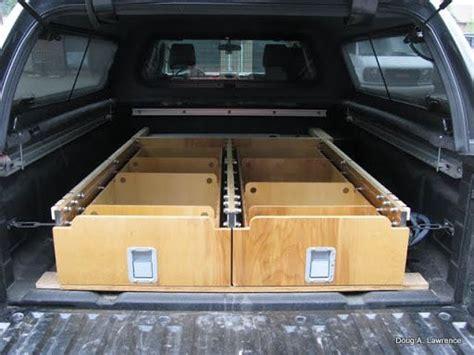 latest project truck drawerssleeping platform