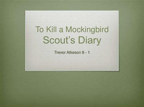 to kill a mockingbird theme journal to kill a mockingbird diary entry s
