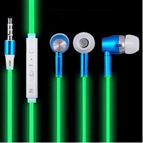 Briame Earphone Luminous Glow In The light reviews shopping light reviews on aliexpress alibaba