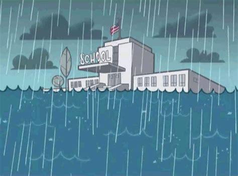 gambar dp bbm animasi bergerak gif ketika turun hujan di sekolah wartasolo berita dan