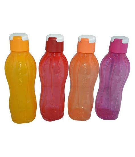 Tupperware Water Bottle 650ml tupperware water bottle 750 ml set of 4 buy at