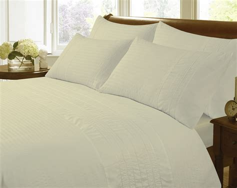 set of 2 coffee cream embroidered decorative bed pillows kliving monaco embroidered seersucker duvet set ivory