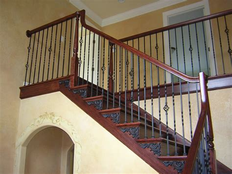 Metal Stair Spindles Forged Iron Stair Railings Xstream Auto Cleaning And