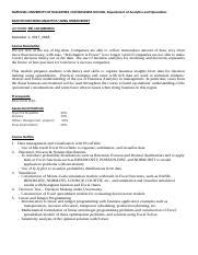 National 5 Course Outline by Dao1704 Course Outline Docx National Of Singapore Nus Business School Department Of