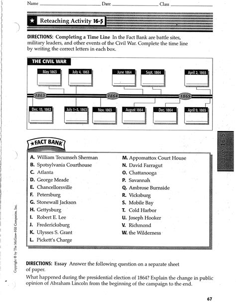War Worksheets by 28 Revolutionary War Worksheets For 5th Grade 5th