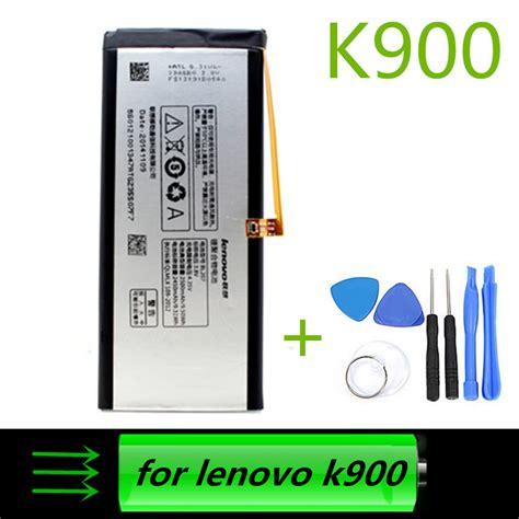 Batt Lenovo K900 lenovo k900 battery 100 original bl207 2500mah battery for lenovo k900 smart cell phone in