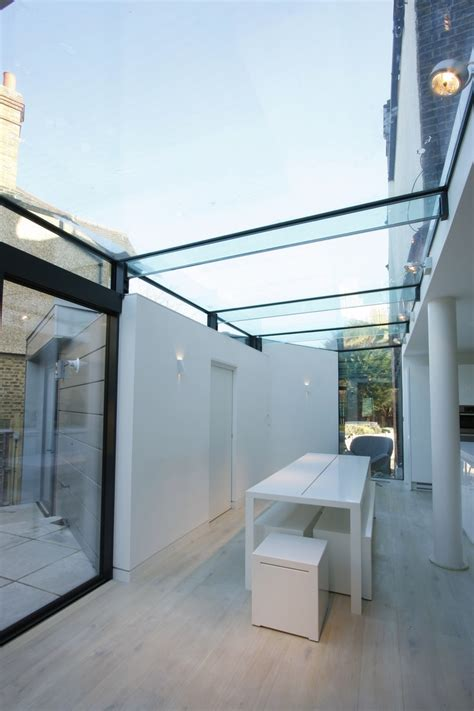 glass roof house structural frameless glass roof on residential extension by iq glass ark exterior is the best