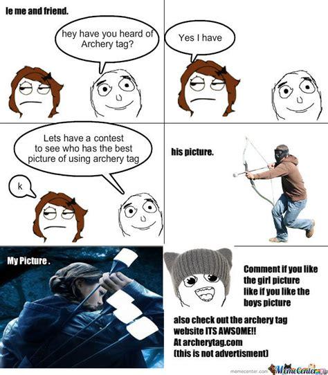 Bow Meme - archery tag by meegon6879 meme center