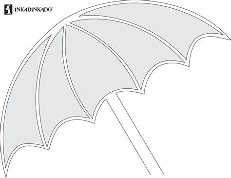 blank umbrella template umbrella template 1 for free tidyform