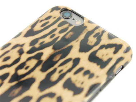Bmw Logo On Wood Apple Iphone 6 Tpu Hybrid Soft Rubber Side guess leopard tpu iphone 6 6s hoesje