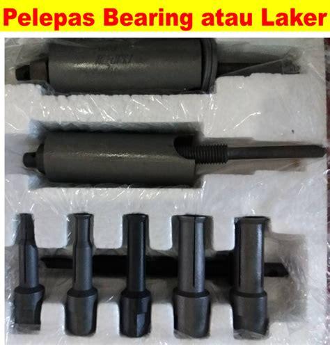 Alat Test Injector melepas laker bearing dengan alat minim