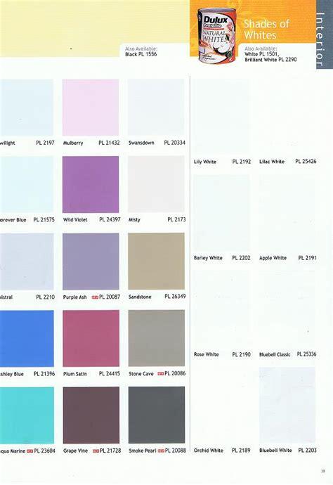 dulux colour chart for exterior best trends