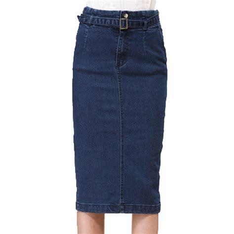 new arrival denim skirts pencil