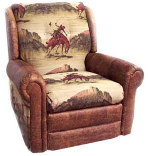 cowboy couch marshfield 2325 34 rocker recliner in cowboy stage