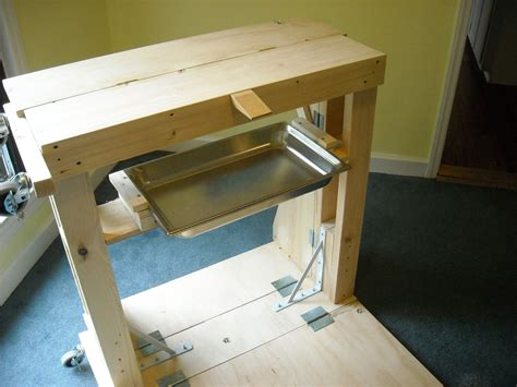 jewelry bench plans a portable jeweler s bench larry seiger might work