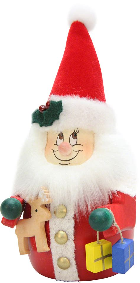 teeter gnome santa claus 15 5cm 6in ch by christian ulbricht