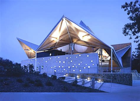 Origami Roof - studio architects origami shaped