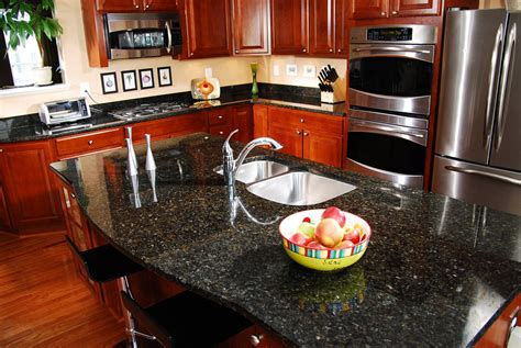 Emerald Pearl Granite Countertop emerald pearl granite installed design photos and reviews