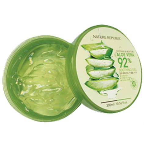 Nature Republic Aloe Vera Soothing Gel Original jual nature republic soothing and moisture aloe vera 92