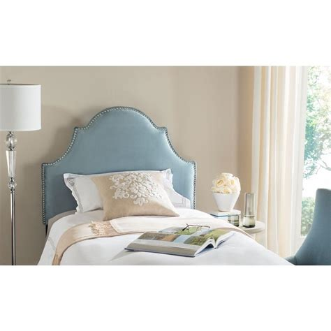 blue twin headboard safavieh hallmar wedgwood blue twin headboard mcr4026e