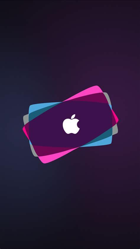 wallpaper iphone neon apple neon iphone wallpaper hd