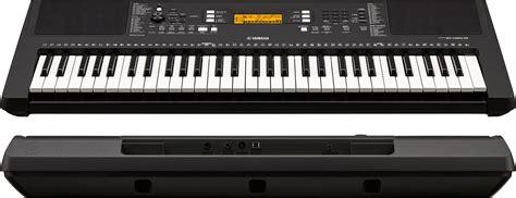 Yamaha Portable Keyboard Psr E363 Psre363 Original the best portable keyboards 500 w midi gearank