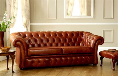 pemberton brown leather chesterfield leather