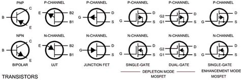 electrical schematic connection symbols